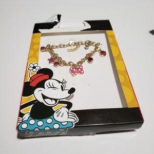 Minnie charm bracelet